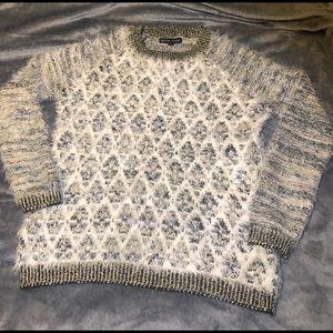 Black Rivet Brand Fuzzy Soft Sweater Sz S